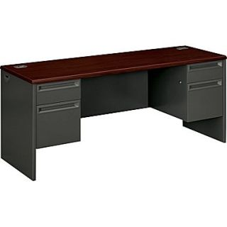 HON 38000 Series Double Credenza for Office Desk or Computer Desk, 72W