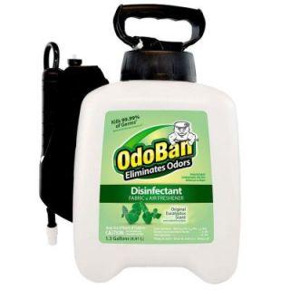 OdoBan 1.3 Gal. Eucalyptus Scent Ready to Use EZ Pump Sprayer 910061 166Z
