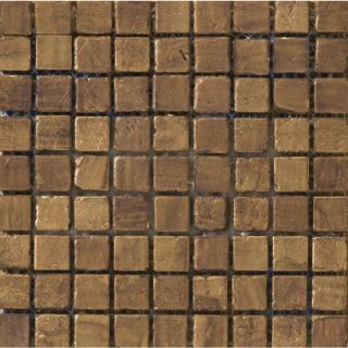 Emser Treasure Find Metal Mosaic Square Wall Tile (Common: 12 in x 12 in; Actual: 11.81 in x 11.81 in)