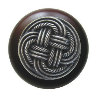 Notting Hill 1 1/2 in Pewter Classic Round Cabinet Knob