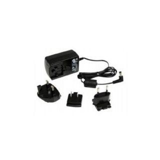 StarTech 12V DC 1.5A Universal Power Adapter   Power adapter   AC 100 240 V   black   for P/N: SV831DUSBUK, SV231DVI