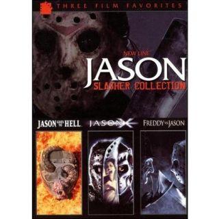 Jason Slasher Collection: Jason Goes To Hell / Jason X / Freddy Vs. Jason (Widescreen)