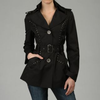 Miss Sixty Womens Nailhead Detail Trench  ™ Shopping