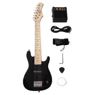 Berry Toys 30 in. Electric Guitar Set   Black   Kids Musical Instruments
