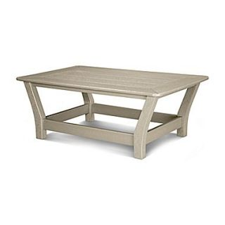 POLYWOOD  Harbour Coffee Table; Sand