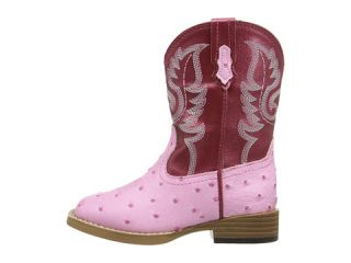 Roper Kids Western Square Toe Boot Toddler Pink Red
