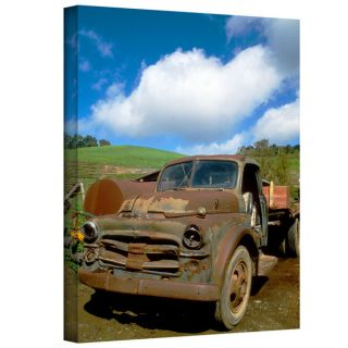 Kathy Yates Old Truck Gallery wrapped Canvas   15924855