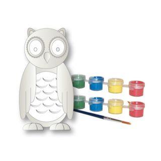 Paint Your Own Garden Owl by Sassafras