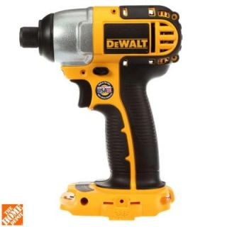 DEWALT 18 Volt 1/4 in. (6.4 mm) Cordless Impact Driver (Tool Only) DC825B