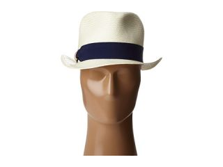 Michael Stars Pop Band Short Brim Panama Hat Tang