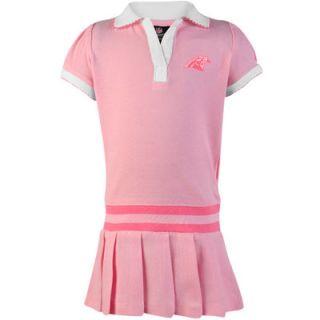 Carolina Panthers Infant Girls Pleated Sundress   Pink