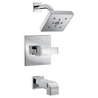 Delta T14467 Ara Tub and Shower Trim with H2Okinetic Independent Volume Control and Monitor Valve Technologies