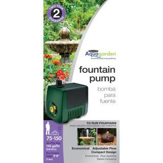 Pennington 158 GPH Submersible Fountain Pump