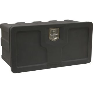 x Buyers Underbody Toolbox — Plastic, 24in.L x 18in.D x 18in.H, Model# 1717100  Underbody Truck Boxes