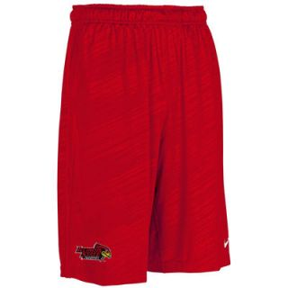 Illinois State Redbirds Nike Fly Mesh Short   Red