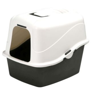 Petmate® Large Hooded Cat Litter Pan with Microban (22027)   Cat Litter & Accessories