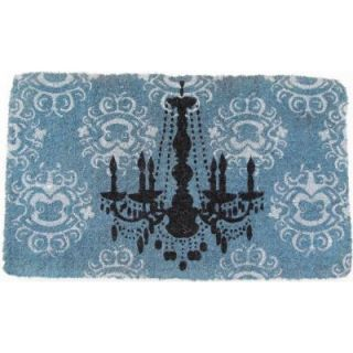 Entryways Chandelier 18 in. x 30 in. Extra   Thick Hand Woven Coir Door Mat DISCONTINUED 966 F
