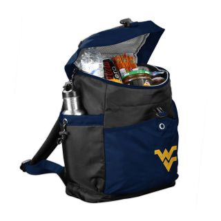 Logo Chairs West Virginia Mountaineers 288 fl oz Polyester Backpack Cooler