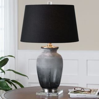 Signature Designs by Ashley Niobe Two tone Grey Ceramic Table Lamps