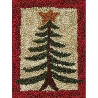 "Pine Tree Punch Needle Kit 2 7/8""X4"""
