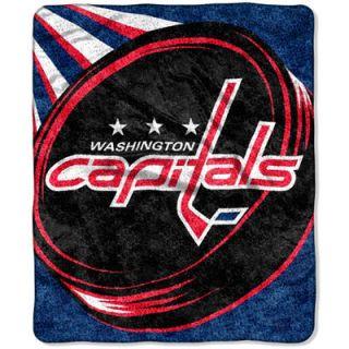 Washington Capitals 50 x 60 Puck Sherpa Throw Blanket