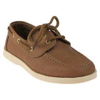 Boys Boat Shoes   Tan