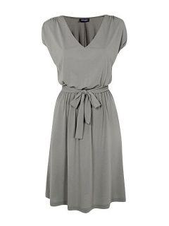 HotSquash CoolFresh round neck short sleeved dress Grey