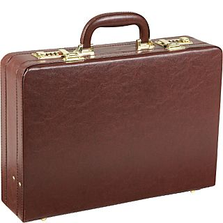 AmeriLeather Executive Faux Leather Attache Case