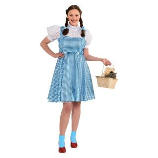 of Oz Womens Dorothy Costume Blue XX Large