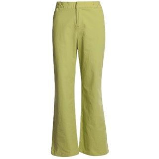 Stretch Woven Twill Bootcut Pants (For Women) 5890X 96