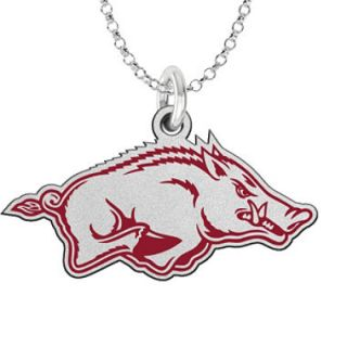 Fiora Arkansas Sterling Silver Logo Necklace (Assorted Styles)