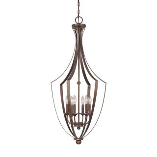 Century 19 in Rustic Single Clear Glass Pendant
