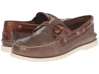 Sperry Top Sider A/O 2 Eye Cross Lace Brown 2