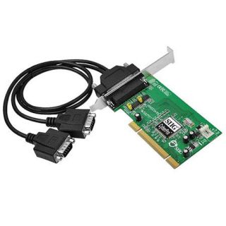 SIIG Dual Profile PCI 2 Port RS 232 Serial Adapter JJ P20211 S7