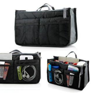 Lady Women Travel Insert Organizer Compartment Bag Handbag Purse Large Liner Tidy Bag