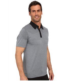 Adidas Golf Climacool Primeknit Polo Black Vista Grey, Clothing, Black, Adidas,