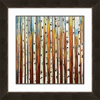 PTM Images Forbidden Forest I Gicl e Framed Painting Print