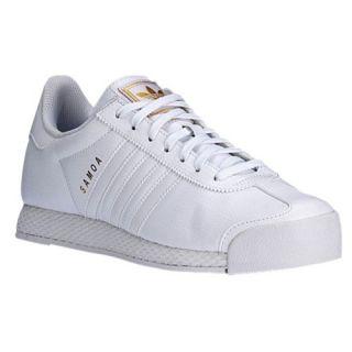 adidas Originals Samoa   Mens   Training   Shoes   Black/Silver Metallic/White