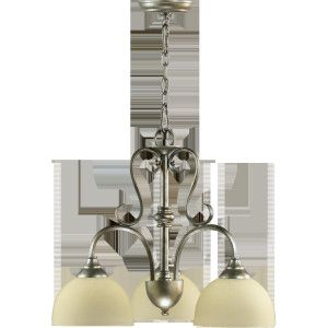 Quorum International QIN 6408 3 58 Powell Mystic Silver  Mini Chandeliers Lighting