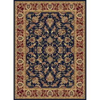 Concord Global Cyrus Navy Rectangular Indoor Woven Oriental Area Rug (Common: 9 x 12; Actual: 105 in W x 148 in L x 8.75 ft Dia)