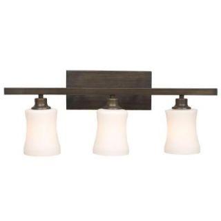 Filament Design Negron 3 Light Oil Rubbed Bonze Incandescent Bath Vanity Light CLI XY5227684