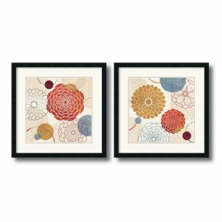 Amanti Art 26 in W x 26 in H Abstract, Floral and Still Life Framed Art