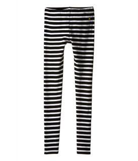 Kate Spade New York Kids Stripe Leggings (Big Kids) Black/Cream