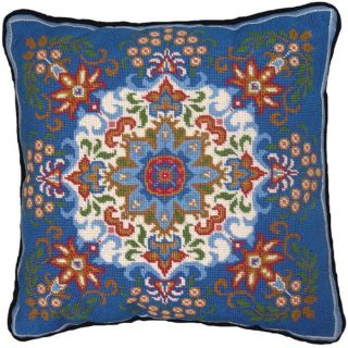 MCG Textiles Blue Kaleidoscope Needlepoint Kit   13851989