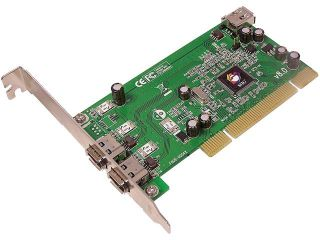 SIIG Model NN 440012 S8 PCI to 1394 Card  Add On Card