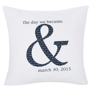 Personal Creations Personalized The Day We Became & Pillow   7703816