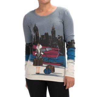Neve New York Crew Neck Shirt (For Women)