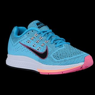 Nike Zoom Structure 18   Womens   Running   Shoes   Magnet Grey/Black/Hyper Jade/Hyper Punch